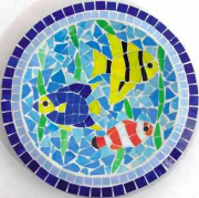 mosaic bird baths