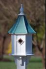 blue bird houses