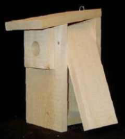 wooden birdhouse kits