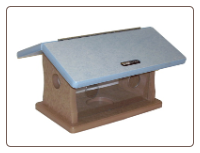 recycled plastic mealworm feeder