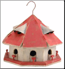 Red Roof Motel Birdhouse