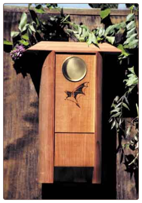 Colony Bat House with triple chamber
