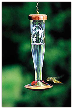 cool ant moat for lantern style hummingbird feeders