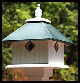 another vinyl beauty resembling a wooden birdhouse
