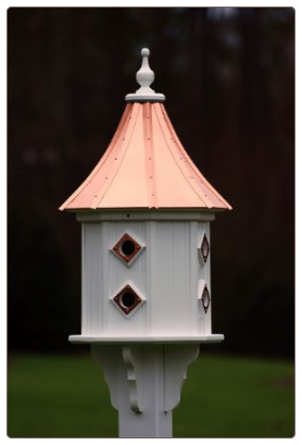 Durable Vinyl that likes like a wood birdhouse