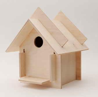 birdhouse kits by box for birds are innovative, fun and functional