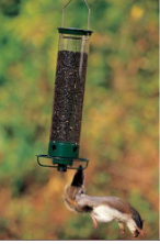 The Yankee Flipper is king of squirrel proof bird feeders