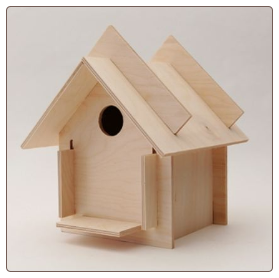 discounts and great project ideas for bird house kits