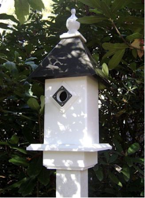 Vinyl blue bird houses are also NABS Approved and last a lifetime!