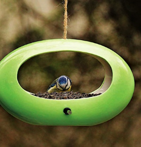 Groovy Glass Bird Feeder is like the old Mod Pod, but better!