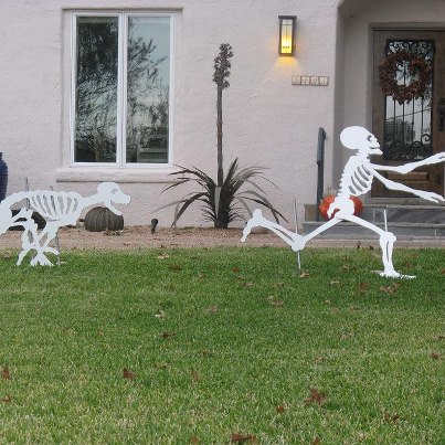 Great Halloween decor for next year!