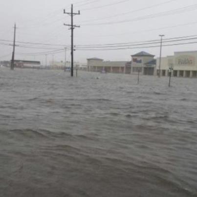 Hurricane Sandy's aftermath in my home town