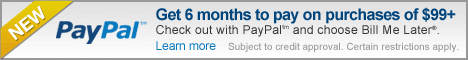 Get 6 months to pay-same as cash on wood birdhouses and everything else!