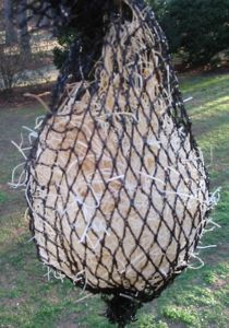 packing from this wild bird feeder makes for excellent nesting material