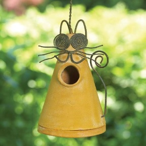 You can guard against wasp nests in decorative bird houses with this simple remedy