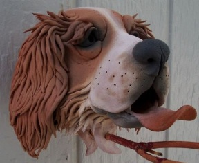 This spaniel and other designs certainly make for some of the most unique birdhouses!