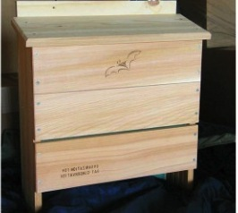 Organization for Bat Conservation Approves this large Bat House