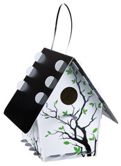 Fun birdhouse kits are for any nature buffs ages 5 through 105