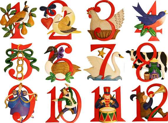 Code revealed for The Twelve Days of Christmas