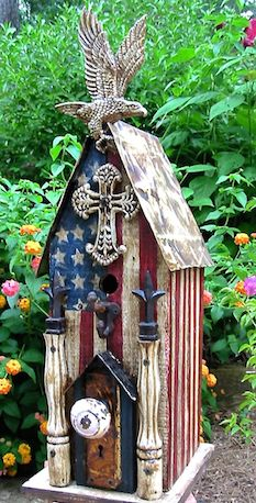 Unique birdhouses are for year-round use as roosts too