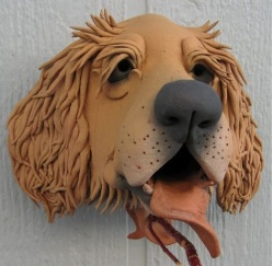 golden retriever unique birdhouse is modeled after your own buddy
