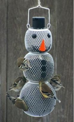 Wild Bird Feeders can have perches or all-over feeding space