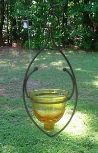Hanging candle holder for jelly in spring