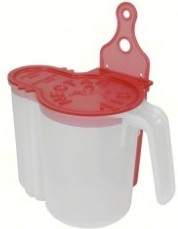nectar-aid self-measuring pitcher for hummingbird solution
