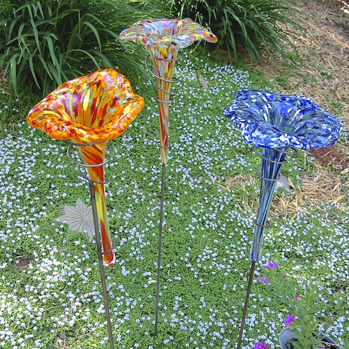 butterfly feederbath on tall stake - Garden Accents