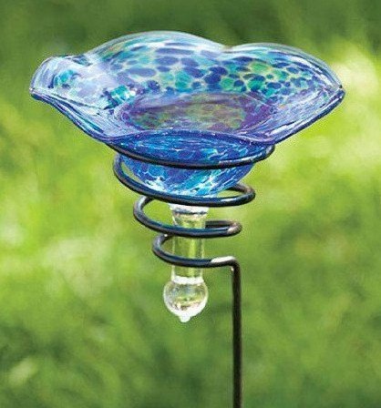 Staked Butterfly Feeder