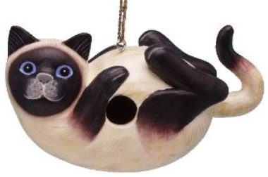 Siamese Cat Birdhouse