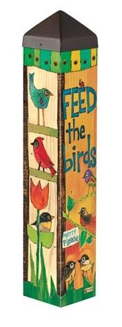 Feed The Birds Garden Pole