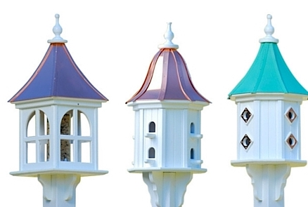 classic garden birdhouses