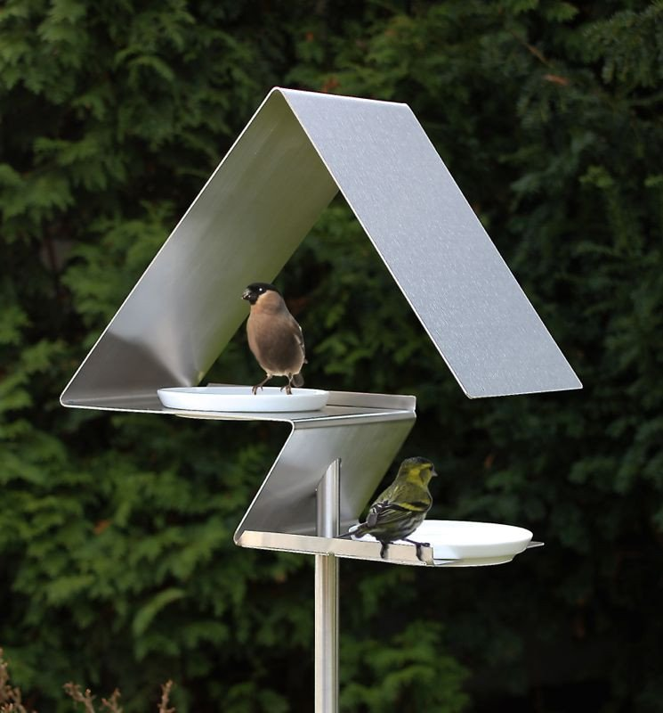 Unique Bird Feeders With Contemporary Style