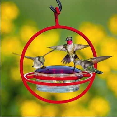Linkable Humming Bird Feeder
