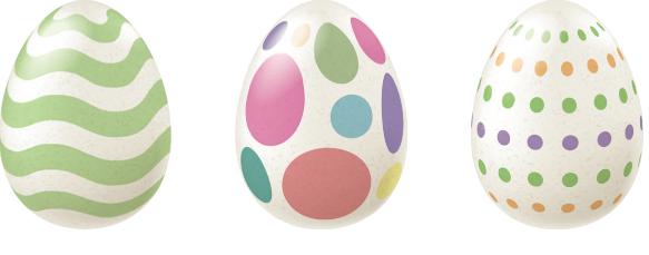 Happy Easter Eggs in Your Birdhouse