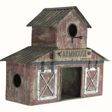 Farmhouse Birdhouse is new for 2020